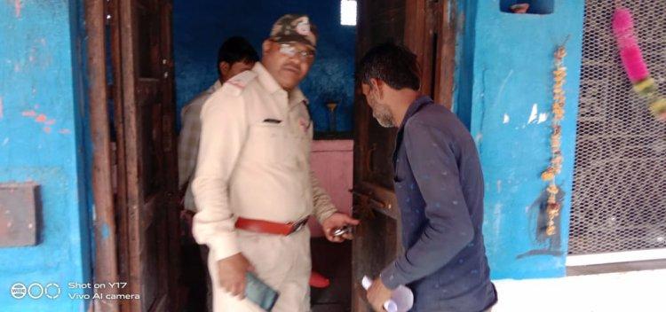 OMG: अज्ञात चोरों ने देवनारायण मंदिर को बनाया निशाना, दानपात्र से उड़ाई राशि, पिपलियामंडी पुलिस जुटी जांच में